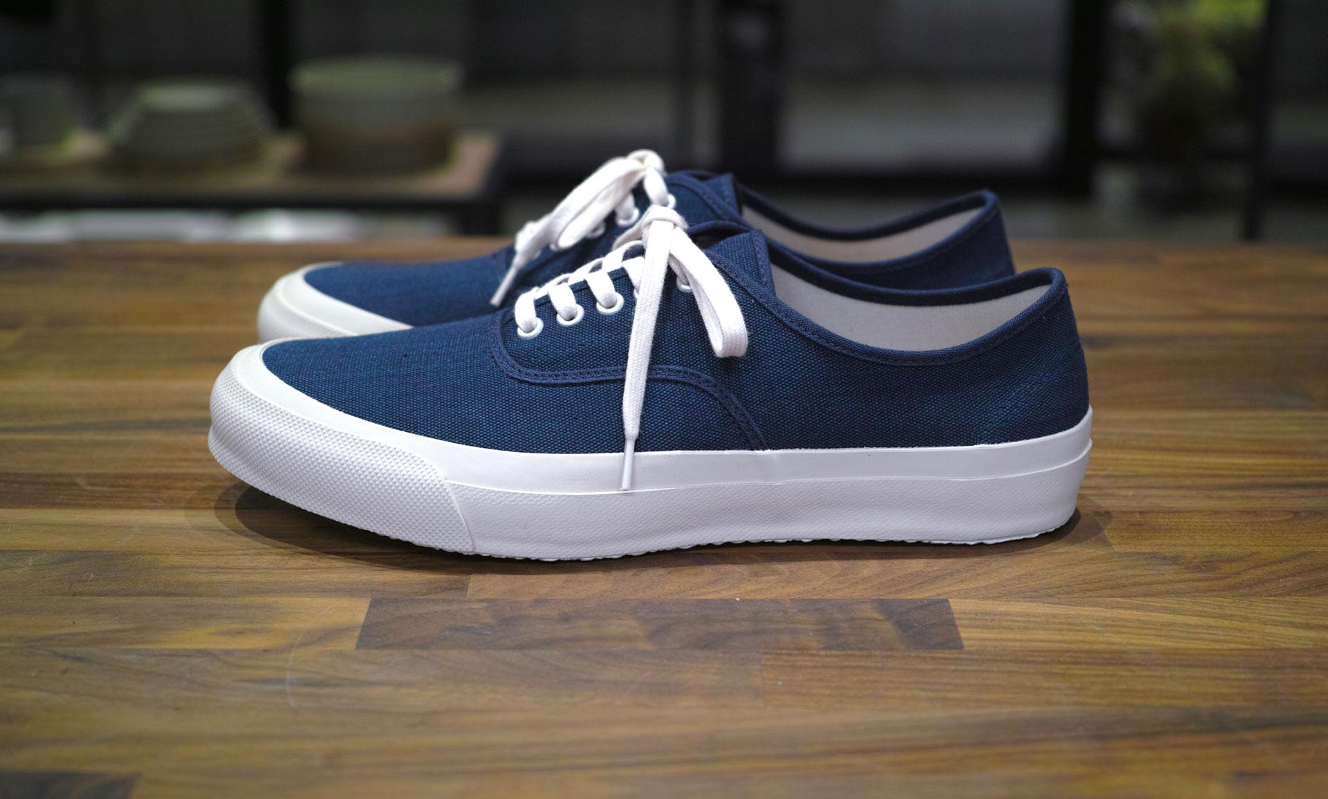 Doek oxford navy sneaker onthebooks - Doek doek ...